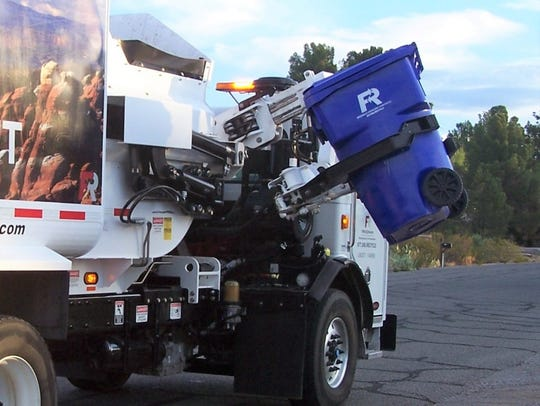 Curbside recycling customers in Las Cruces will see