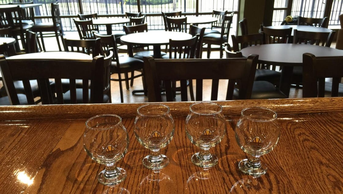 Casual pint craft beer shop opening in loveland for 18 8 salon franchise