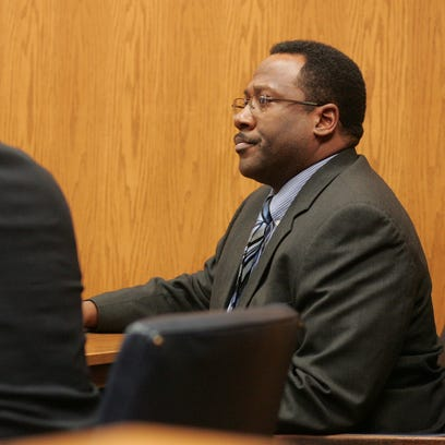 Steven L. Smith is seen here in court after a jury