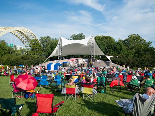 The Cincy Blues Fest happens Saturday at Sawyer Point.