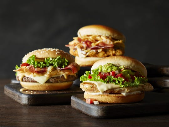 The McDonald's Signature Crafted Recipes line are more