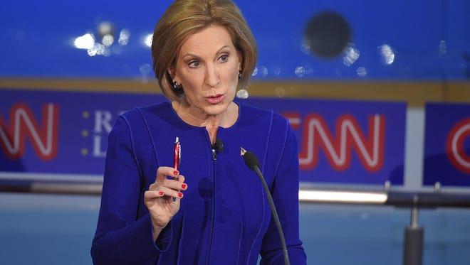 AP  Republican presidential candidate Carly Fiorina