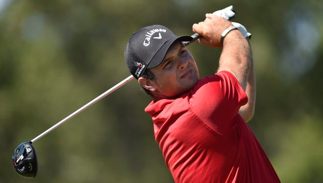 Patrick Reed bogeyed two of his last three holes but held on to win The Barclays.