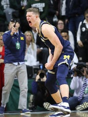 Moritz Wagner scored a career-high 27 points Saturday.