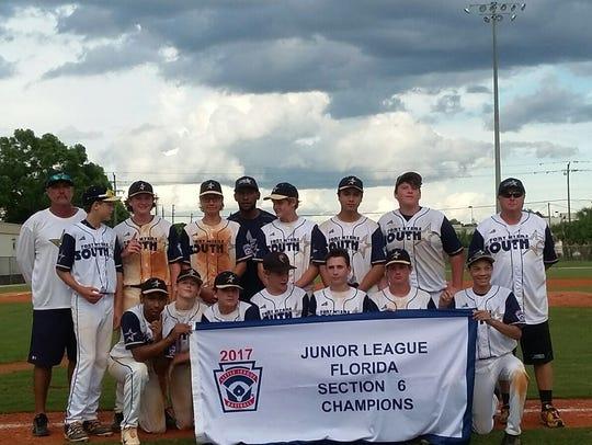 South Fort Myers Junior League:  Scotty Edwards, Michael