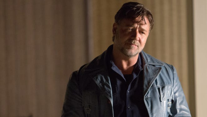 "Russell Crowe plays Jackson Healy in ""The Nice Guys,"" which is set in the 1970s."