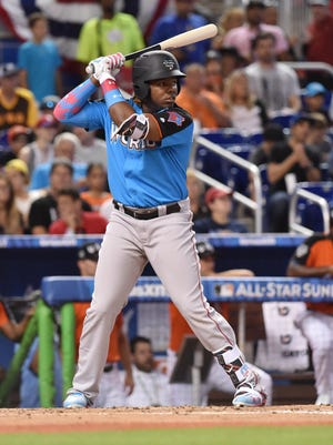 Vladimir Guerrero Jr. wdnt 2-for-4 in the Futures Game.