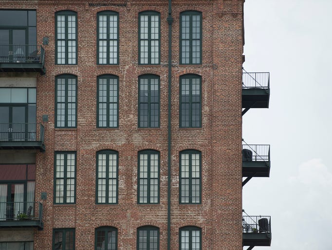 Loft apartments in downtown Columbus, Ga., on Thursday,