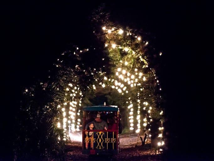 Montgomery Zoo Christmas Lights Festival