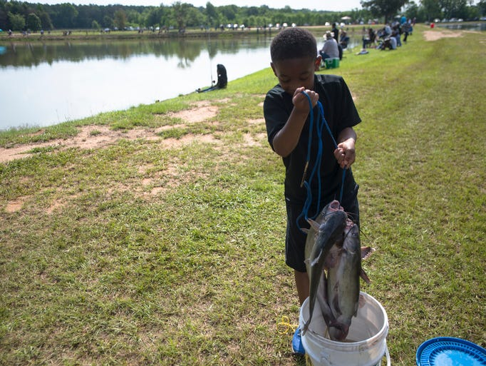 Montgomery Sheriff's department holds annual Kids Fishing ...