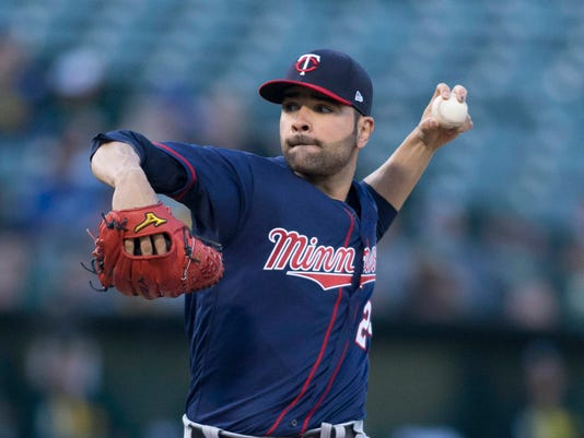 MLB: Minnesota Twins at Oakland Athletics