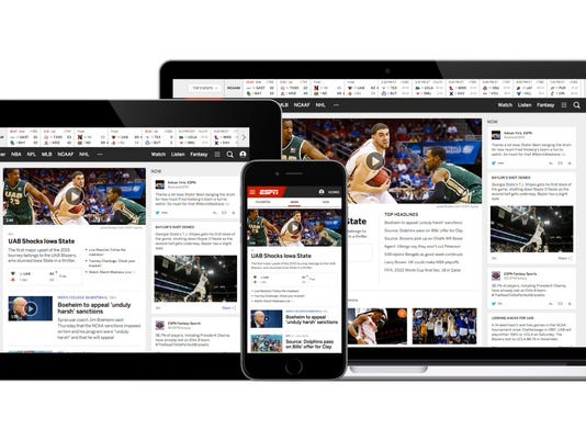 ESPN com serves up new site, apps for 20th anniversary