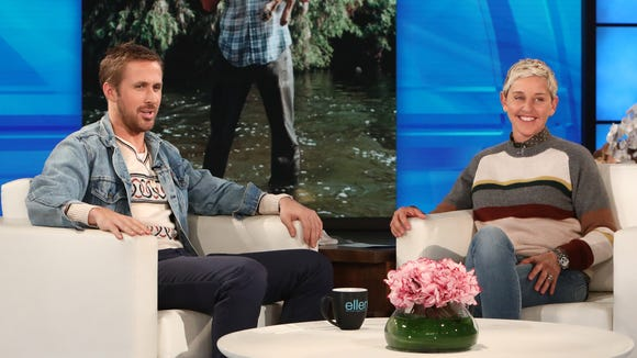 Ryan Gosling talks about his late dog, George, on Friday's