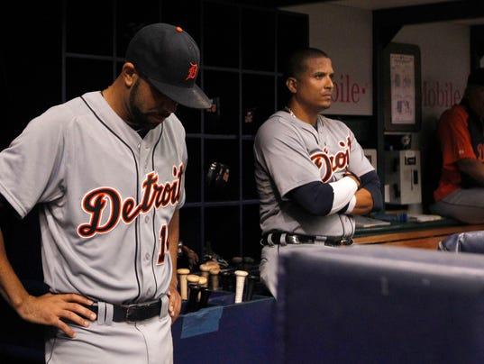 USP MLB_ Detroit Tigers at Tampa Bay Rays
