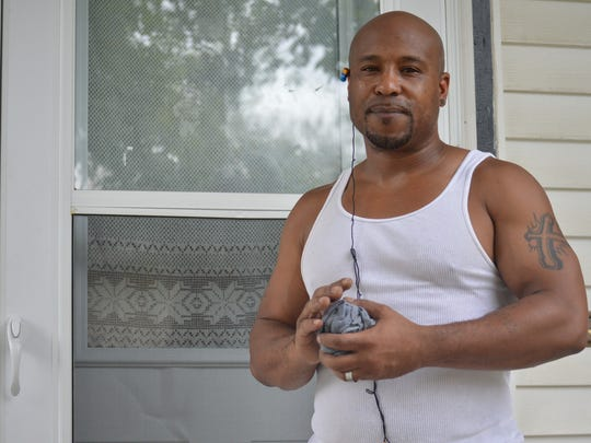 Andre Kelly, 39, of Wausau said in his experience, race can play a role in how the law is enforced.