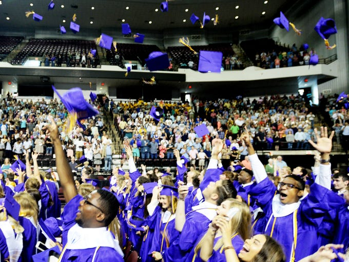 Benton High School Graduation Saturday afternoon at