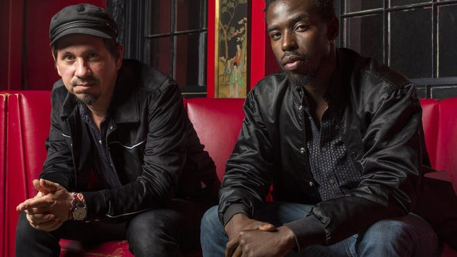 """Black Pumas (l-r, Adrian Quesada and Eric Burton) have a new EP out this week titled """"The Electric Deluxe Sessions."""""""