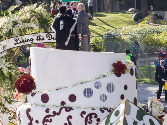 Rose Parade wedding