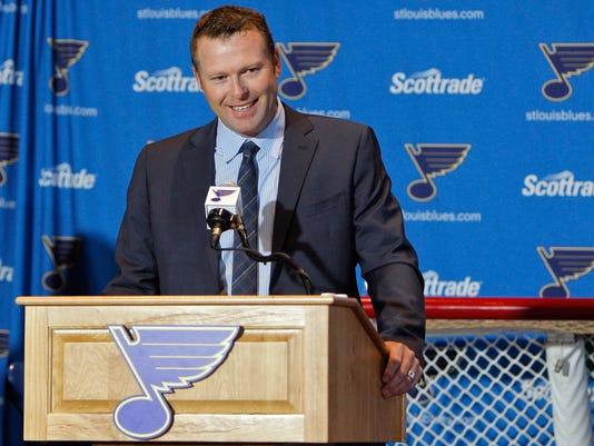 NHL: Martin Brodeur Press Conference