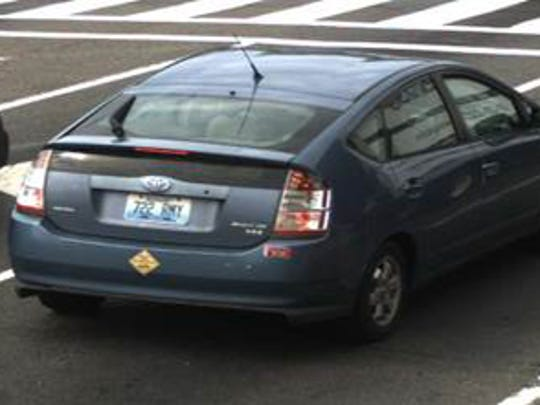 A photo of Corrina Mehiel's car which has been missing