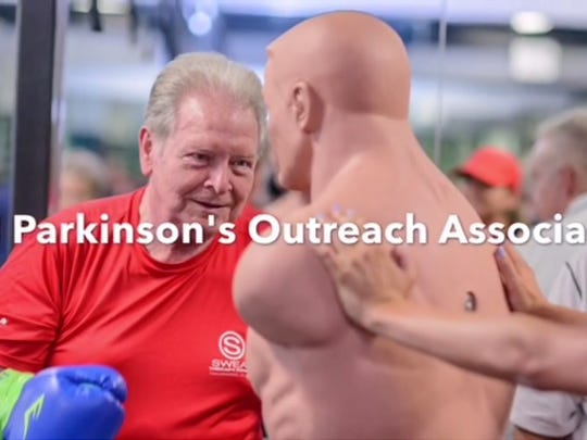 Grow Rock Steady Boxing Program and the Parkinson's Outreach Association aim to help people with Parkinson's Disease fight back