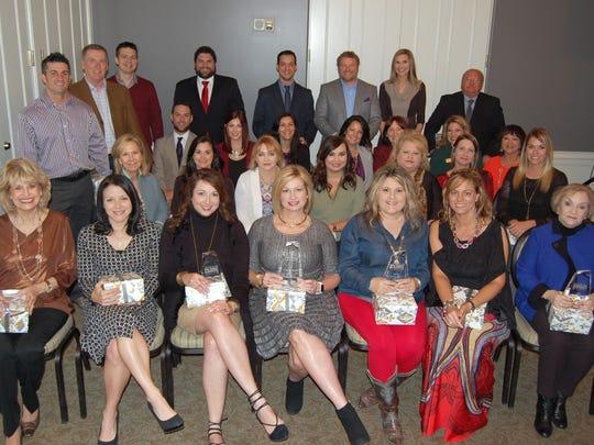 Van Eaton & Romero agents celebrated the accomplishments