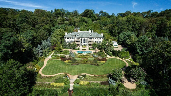 This chateauesque Navesink riverfront estate is on the market for $14.7 million.