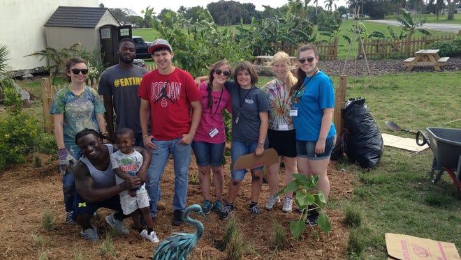 Team Gardens volunteers.