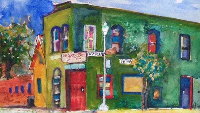 """""""The Grocery Gallery"""" by Pat Olchefski-Winston."""