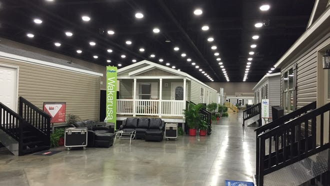 Kentucky Exposition Center Wednesday through Friday for the 52nd annual Midwest Manufactured Housing Show.