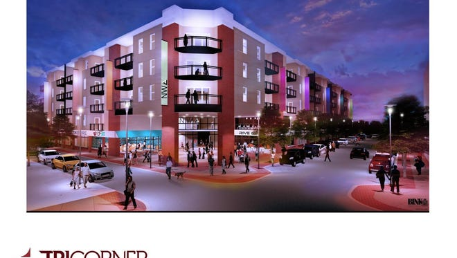 Tri Corner Communities wants to build 342 apartments in York's Northwest Triangle.