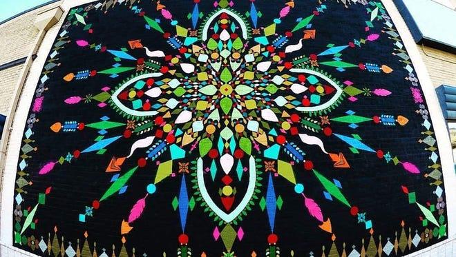 """Mothership Mandala"" will be unveiled May 7 at the PRIDE Center, 820 Montana."