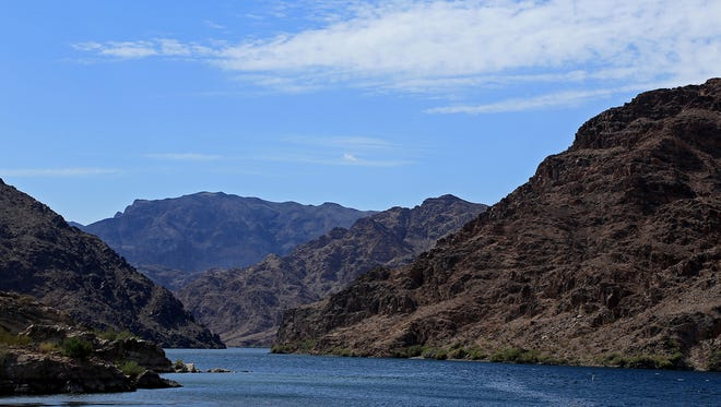 Willow Beach at Lake Mohave, Lake Mead National Recreation Area, Arizona.