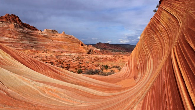 The Wave at Vermilion Cliffs National Monument, Arizona.