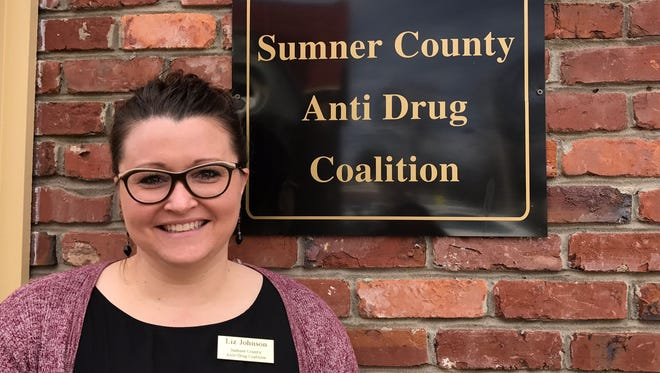 Liz Johnson is the new executive director of the Sumner County Anti-Drug Coalition.