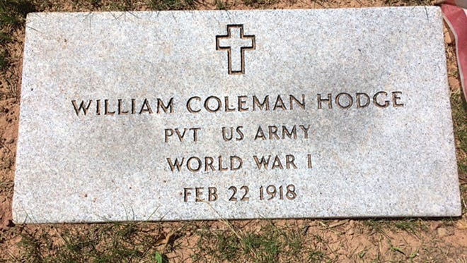 The military grade gravestone was installed at East Ridgelawn Cemetery, Delawanna section, Clifton. The stone will be dedicated in September in a ceremony organized by the Murray-Hodge American Legion Post 453.