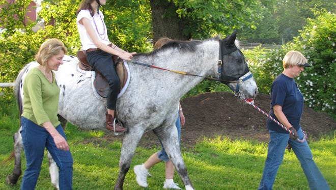 Volunteers are needed for the Therapeutic Recreation Department Adaptive Horseback Riding Program at Lord Stirling Stable in the Basking Ridge section of Bernards.