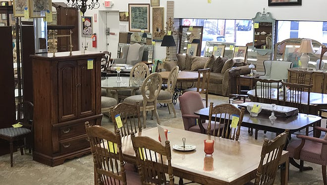 Dressers, dining room sets, artwork, mirrors, lighting fixtures, sinks and accessories are among the inventory of gently used home items and furnishings donated to ReStores and available for sale at significant savings.