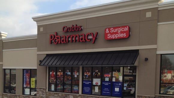 Grubbs Pharmacy is the anchor tenant in the Grubbs Landing strip mall that sold last week for $1.9 million.
