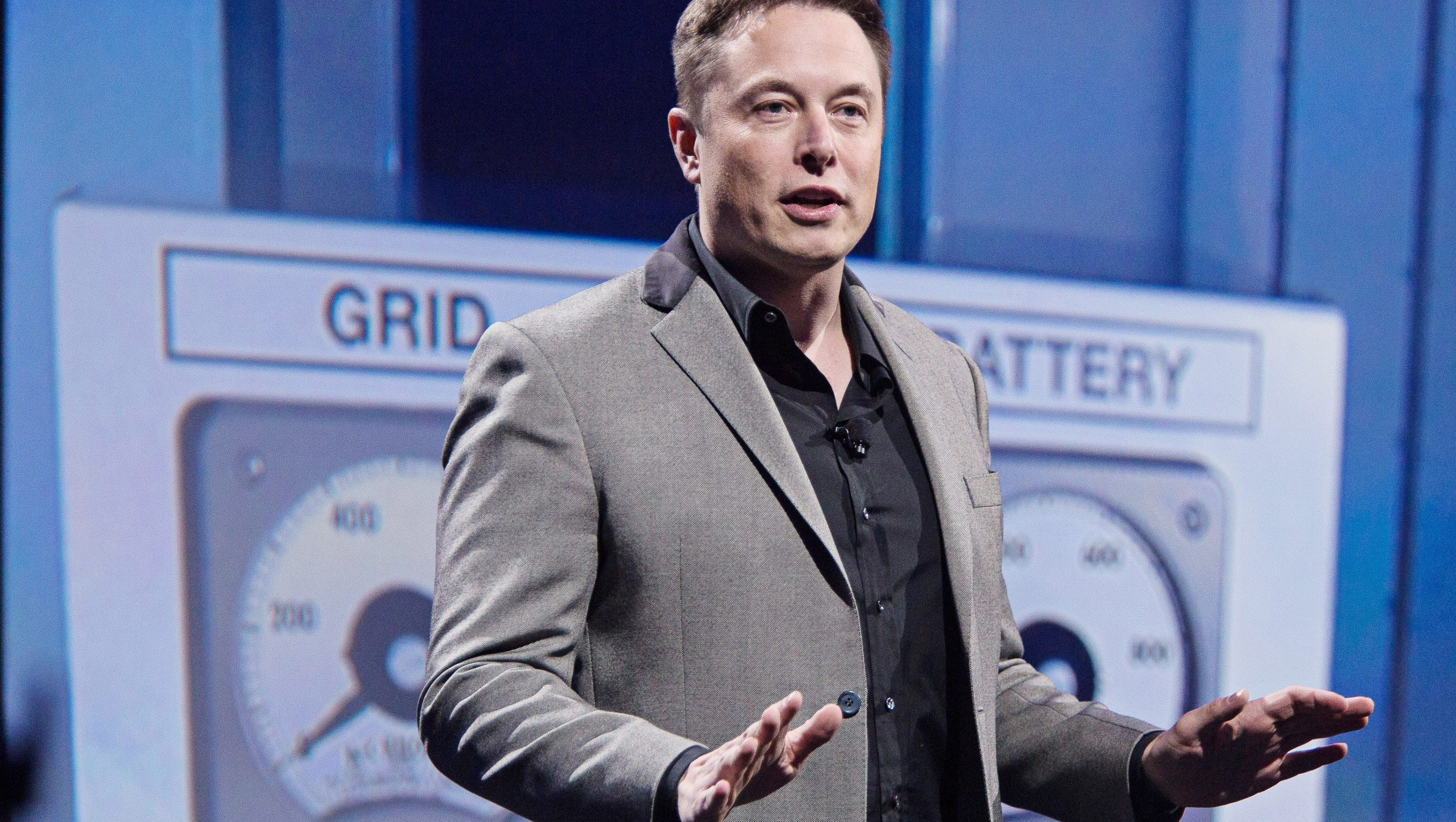 Tesla motors ceo elon musk battery to power home is only 6 - Usa Today