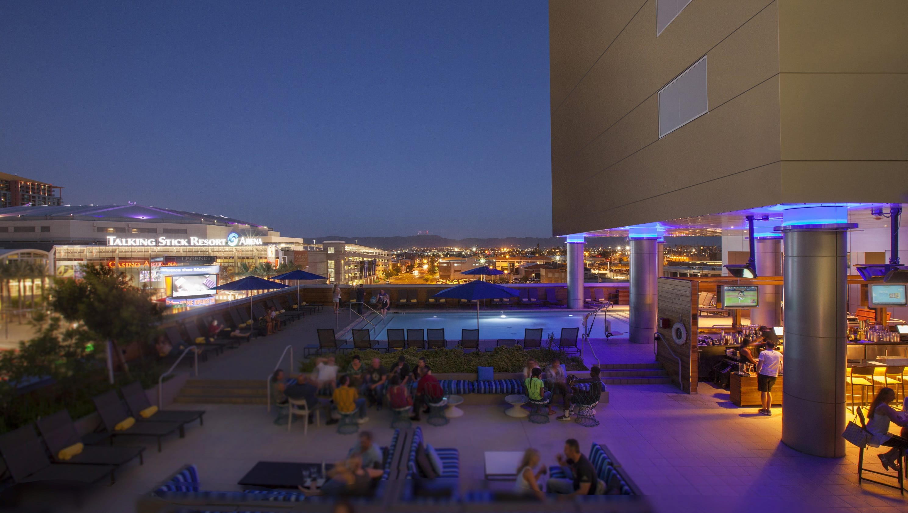 Best Rooftop Bars Around Phoenix To Drink Party With A View
