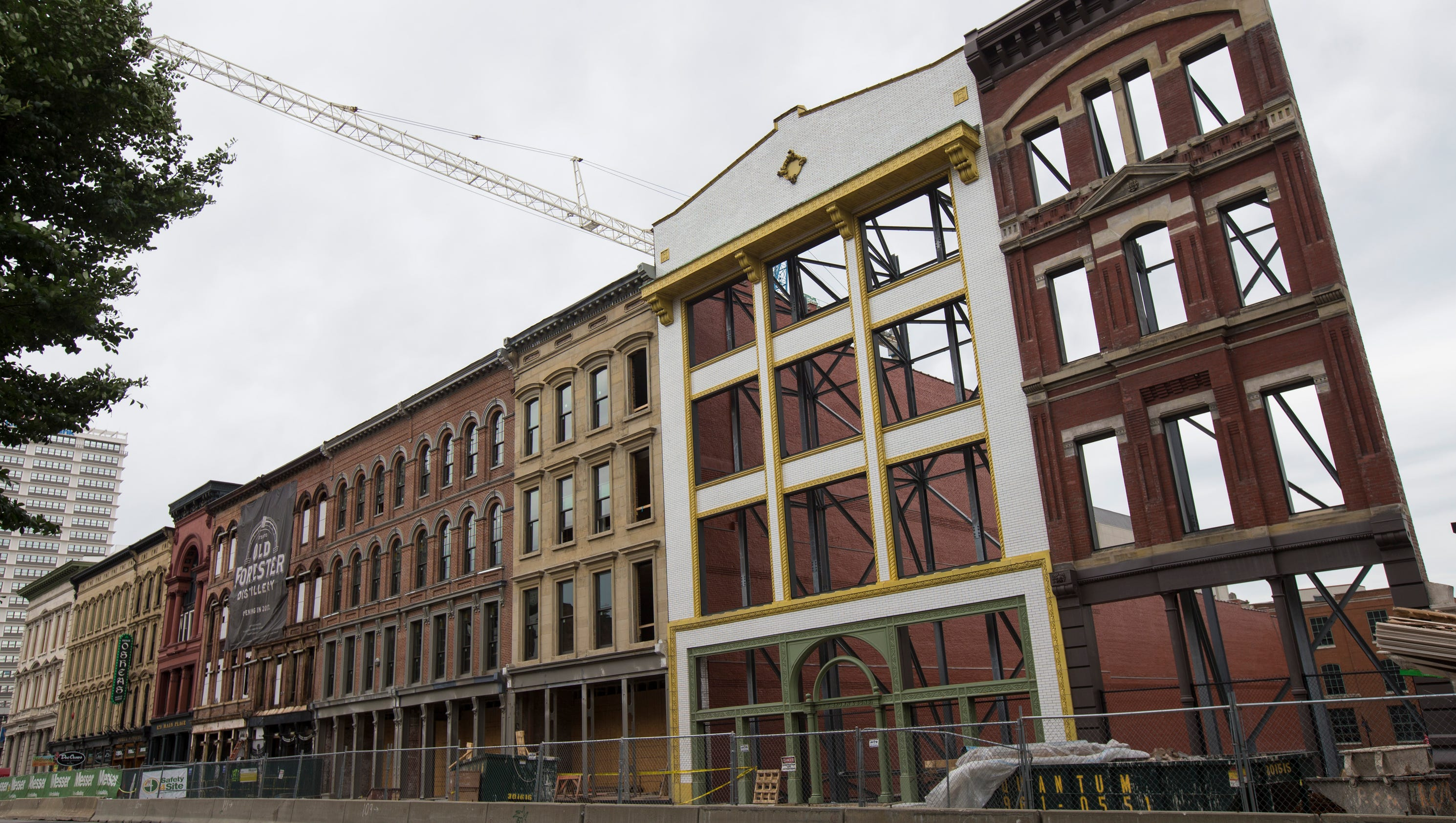 Louisville S Whiskey Row On Way To Becoming Bourbon Tourism Mecca