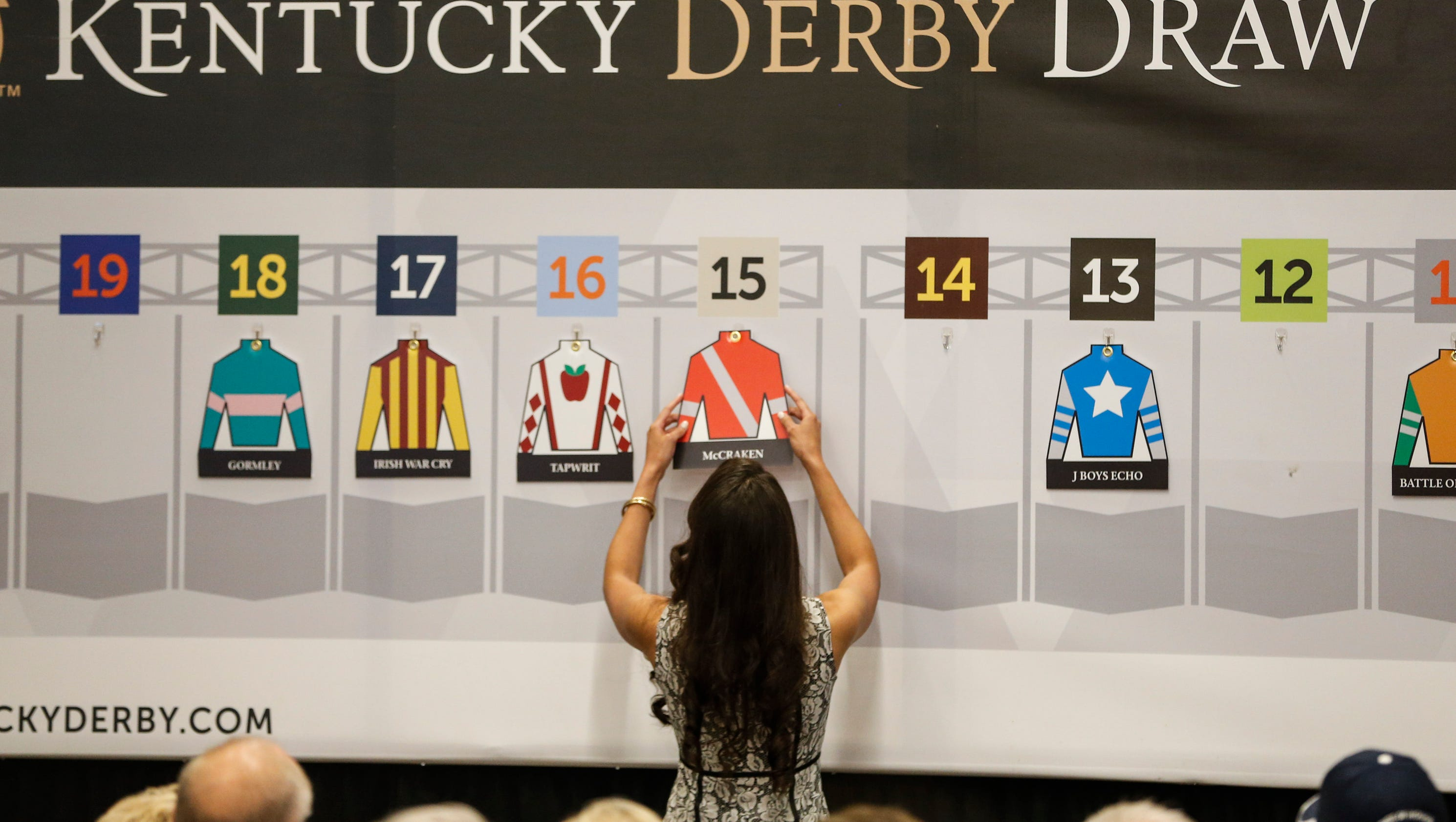 This is a picture of Enterprising Kentucky Derby Post Positions Printable