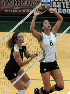 Former CSU volleyball setter Evan Sanders has been named an assistant coach at the University of Colorado.