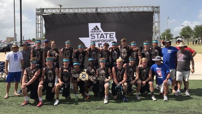 The Graham Steers won the Division II 7-on-7 state championship Friday with a 27-20 victory against Abilene Wylie in the title game. It's the third 7-on-7 state title for Graham in the past six years.