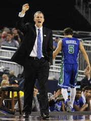 Andy Enfield, the former men's basketball coach at Florida Gulf Coast University led FGCU to its first NCAA tournament appearance in 2013.