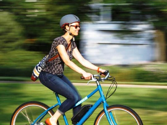 """E-bikes use lightweight batteries to help riders power through long or difficult rides. The Fond du Lac Public Library, in partnership with Attitude Sports and Fond du Lac Cyclery, will offer """"Take a Ride on the Electronic Side"""" at 5:30 p.m. Wednesday, June 6, when attendees will have the opportunity to take test rides. Free. No registration."""