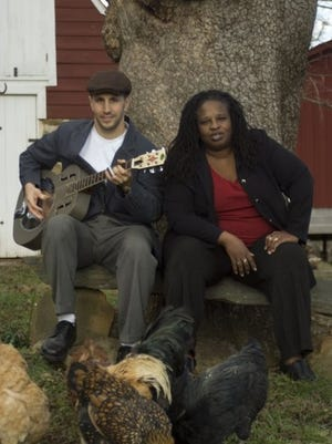 Dr. Levine and The Dreaded Blues Lady perform at Waynesboro Public Library on March 4.