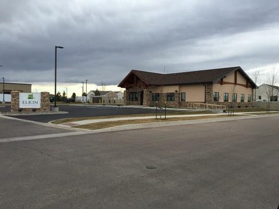 The Elkins opened their new dental office at 2500 Bobcat
