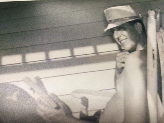 The late Ted Specchio of Burdett.